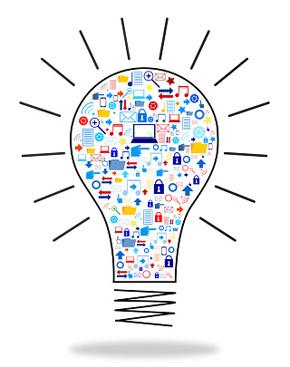 Online Dental Marketing Lightbulb image