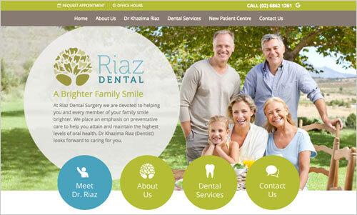 Riaz Dental Surgery Website