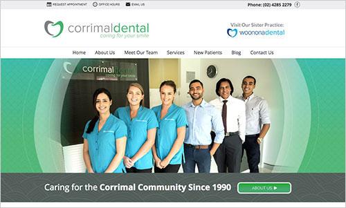 Corrimal Dental Website
