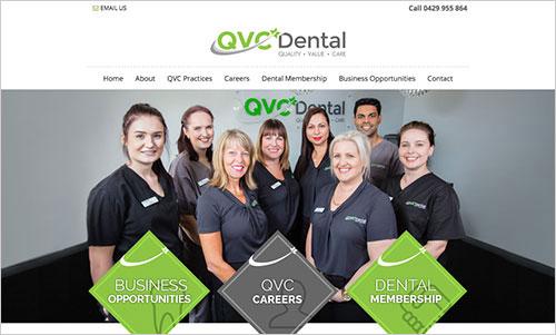 QVC Dental website
