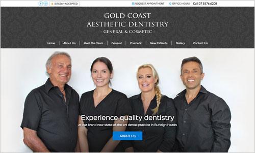 Aesthetic Dentistry Website