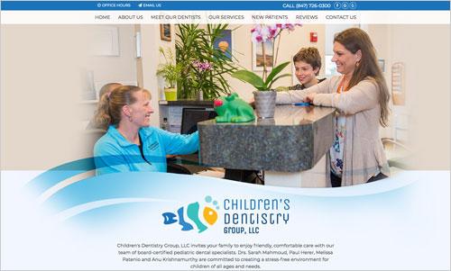Paediatric Dental Website