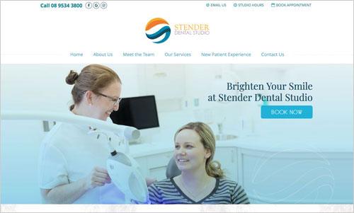 Stender Dental Studio Website