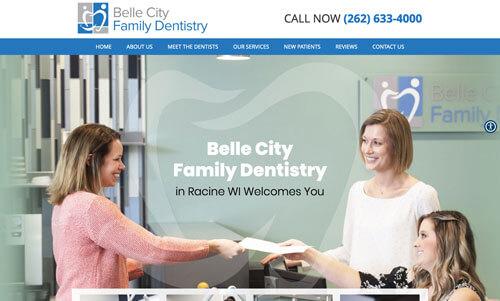 Family Dentistry Website