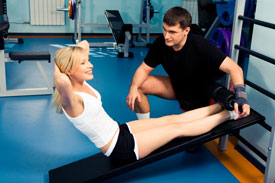 Exercise and Physiotherapy at Arena Wellness Centre.