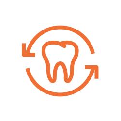 bright teeth illustration