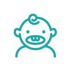 Illustration of infant
