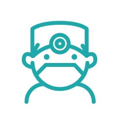 Illustration of dentist